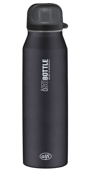 alfi IsoBottle - Recipientes para bebidas - 500ml negro